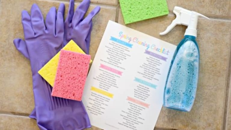 Spring Cleaning Tips and a Printable Checklist