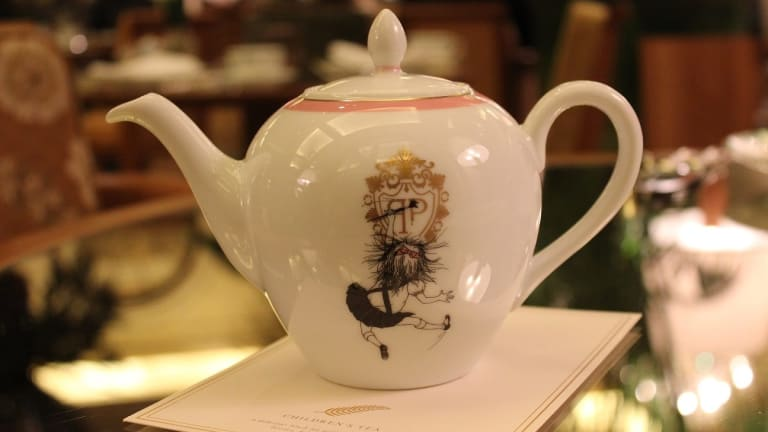 Tea Time with Kids at the Plaza Hotel NYC