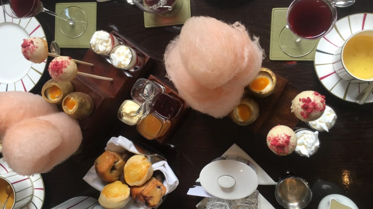 Enjoy Tea Time with Kids in London