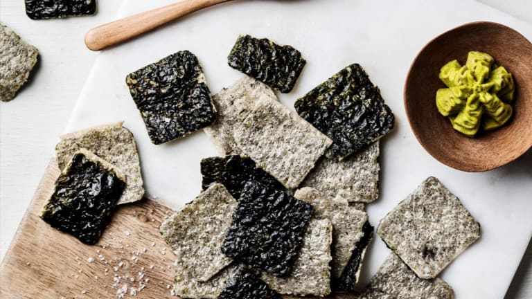 Snack Better With Annie Chun's Seaweed Crisps