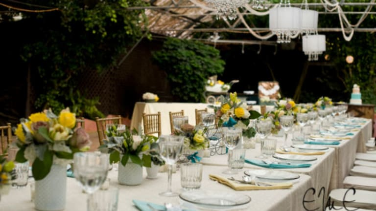 Gorgeous Vintage Meets Modern Baby Shower