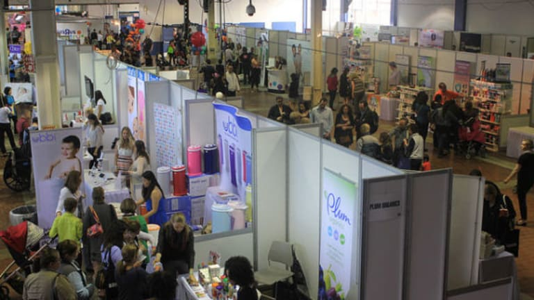Momtrends Blogger Lounge at the New York Baby Show