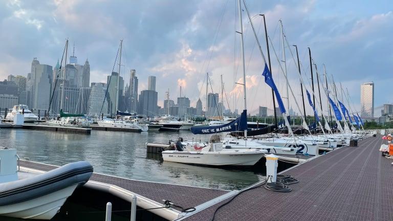 Dinner with a View Brooklyn Bridge Park Estuary