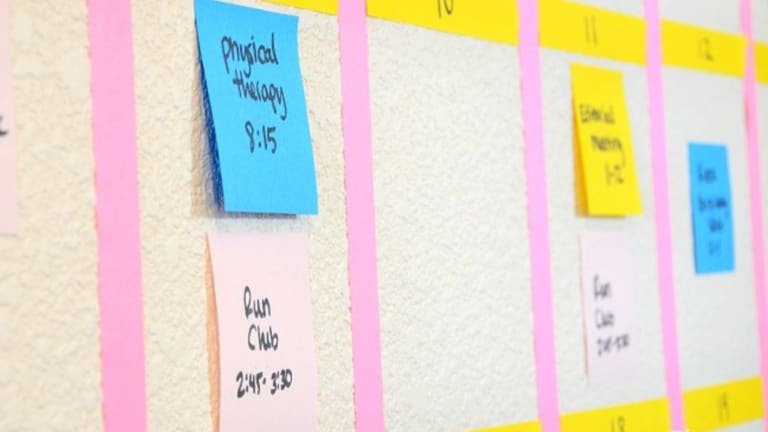 Organize Your Family Calendar with Post-it® Notes