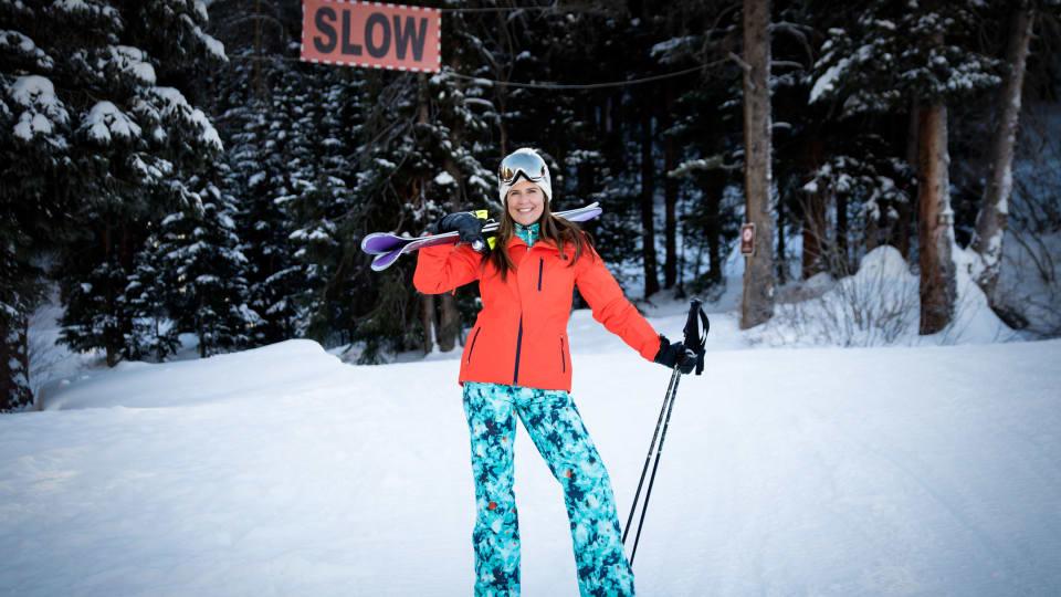 Perfect Ski Jacket for Layering