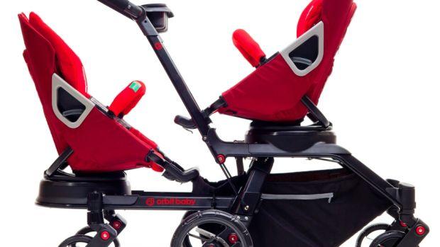 orbit baby double stroller