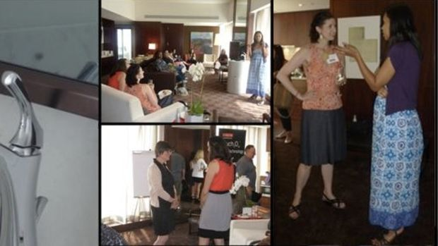Delta Faucet Blogger Event 7.20.11