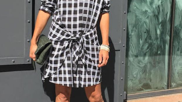 How to Style Plaid