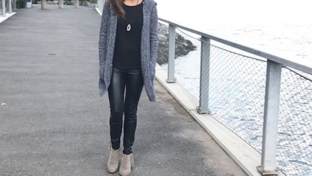 Cozy Holiday Outfit