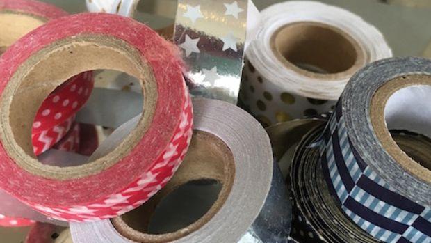 holiday washi tape