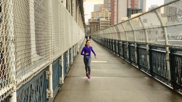 running the manhattan bridge