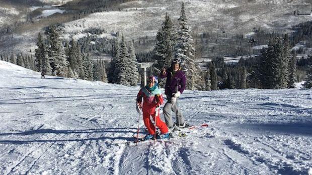 spring skiing utah