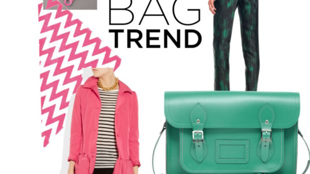 Winter Bag Trends: Go Bright