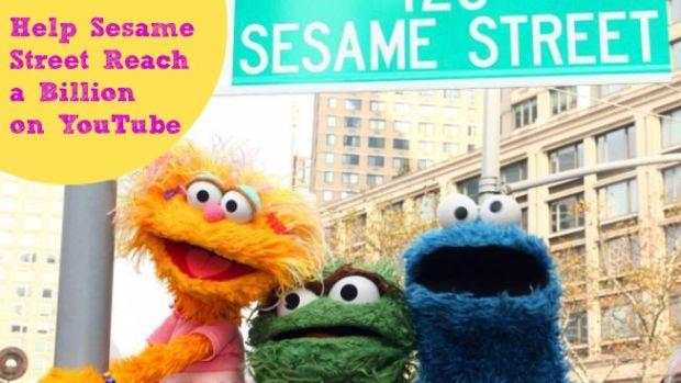 sesame street youtube billion