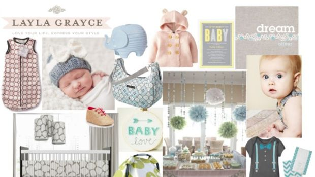 baby registry, layla grayce baby, pinning parties, pin events, pinAtoZ