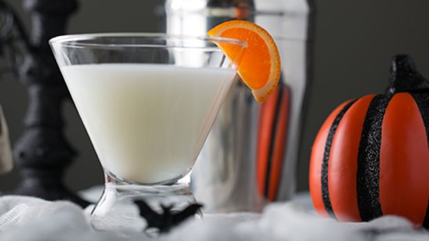 Spooksicle, a Halloween Cocktail