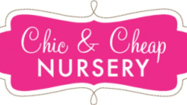 chic and cheap nursery logo