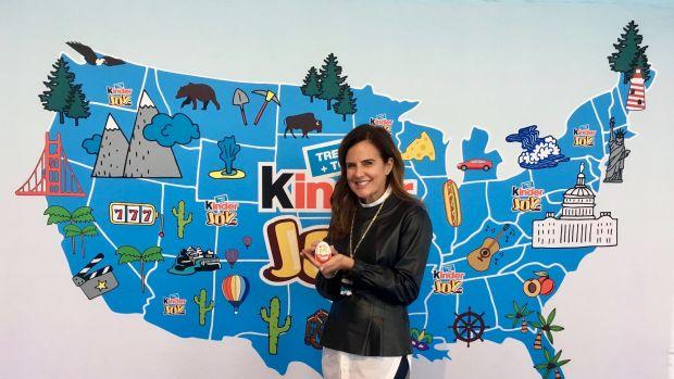 Kinder Joy arrives to America, Kinder Egg, Kinder Joy