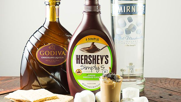S'mores shooter ingredients