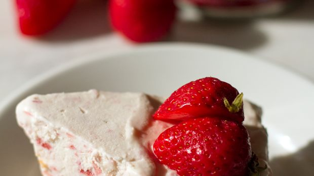 frozen strawberry pie recipe
