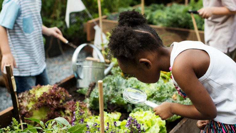 How to Get Kids Gardening