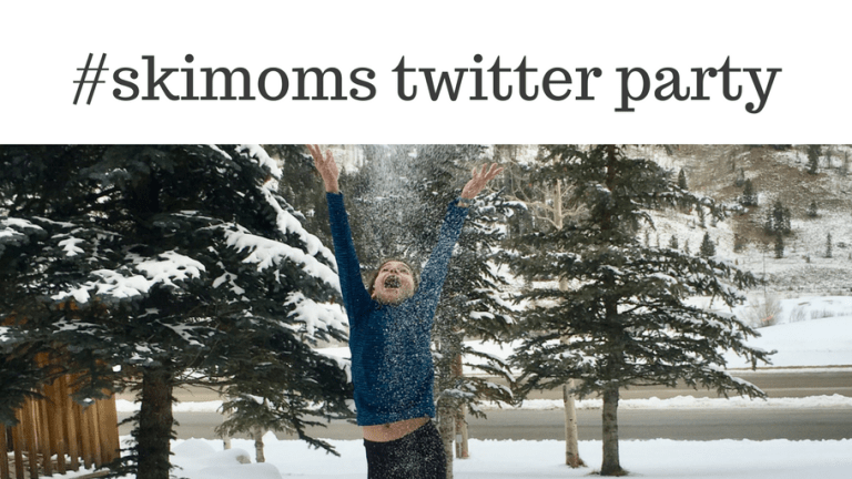 #skimoms twitter party