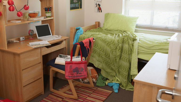 How to Organize a Small Dorm Room into a Productive Living Space