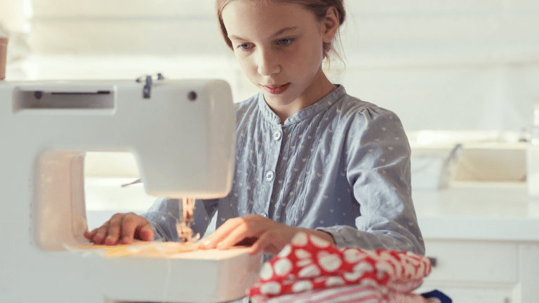 6 Ways to Encourage Young People to Sew & Quilt