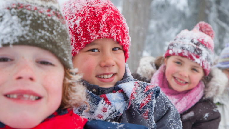 Get Your Family Outside in Colder Weather (It's Good for You!)