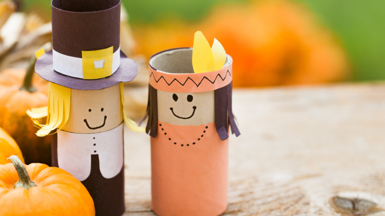 The Cutest Thanksgiving Crafts