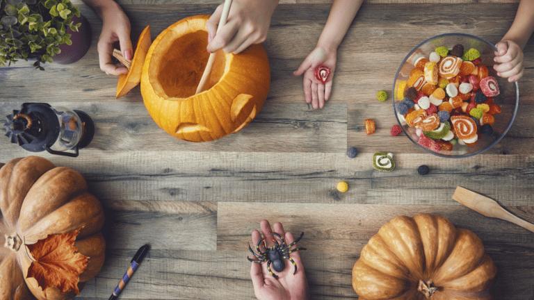 Wine + Candy = Halloween Heaven