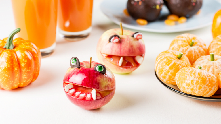 Healthy Halloween-Inspired Lunch Ideas