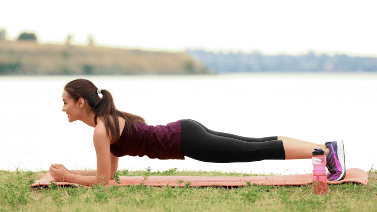 5 minute Plank Workout for Core