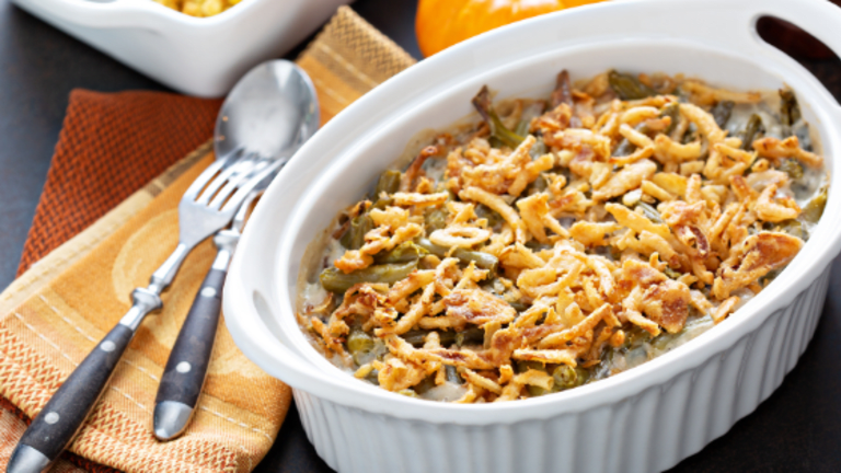 Classic Thanksgiving Recipe Green Bean Casserole