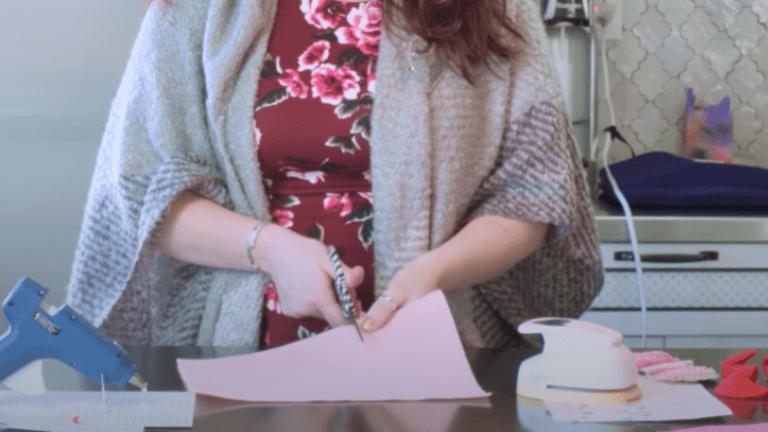 Valentine's Day Felt Fortune Cookie Craft