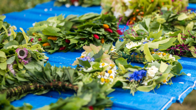 Make a Swedish Floral Wreath to Celebrate Midsommar