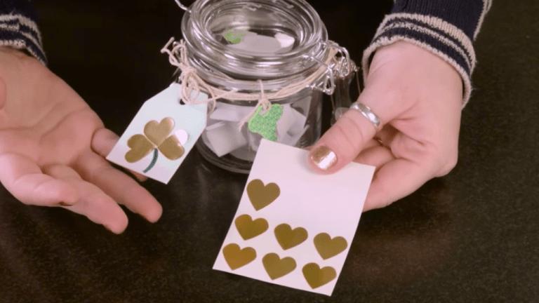 Craft Corner: Lucky Shamrock Jar with Printable