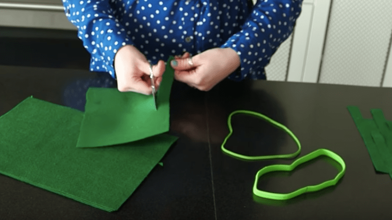 St. Patty's Day DIY Felted Headband Tutorial