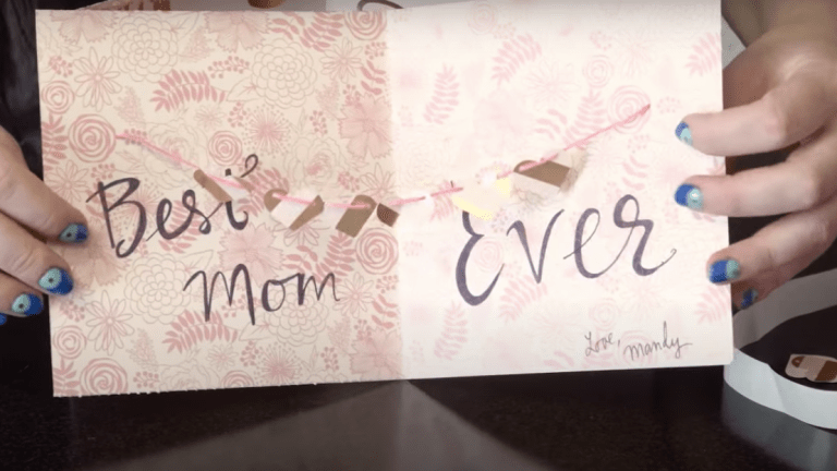 Craft a Mother's Day Banner Card