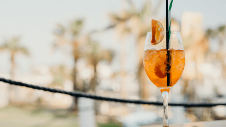 Here are 3 End-of-Summer Low-Calorie Spritzer Recipes