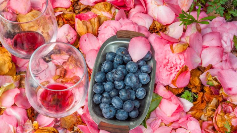 Blueberry Wine Spritzer
