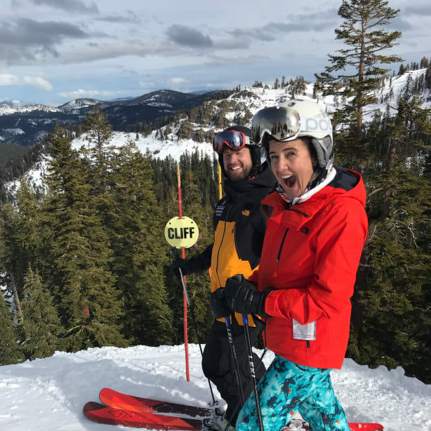 North Face Mountain Guides at Squaw Alpine