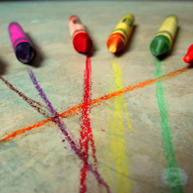 Ways to Get Crafty with Crayons