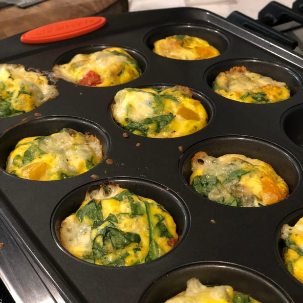 Easy Breakfast Recipe Scrambled Egg Cups