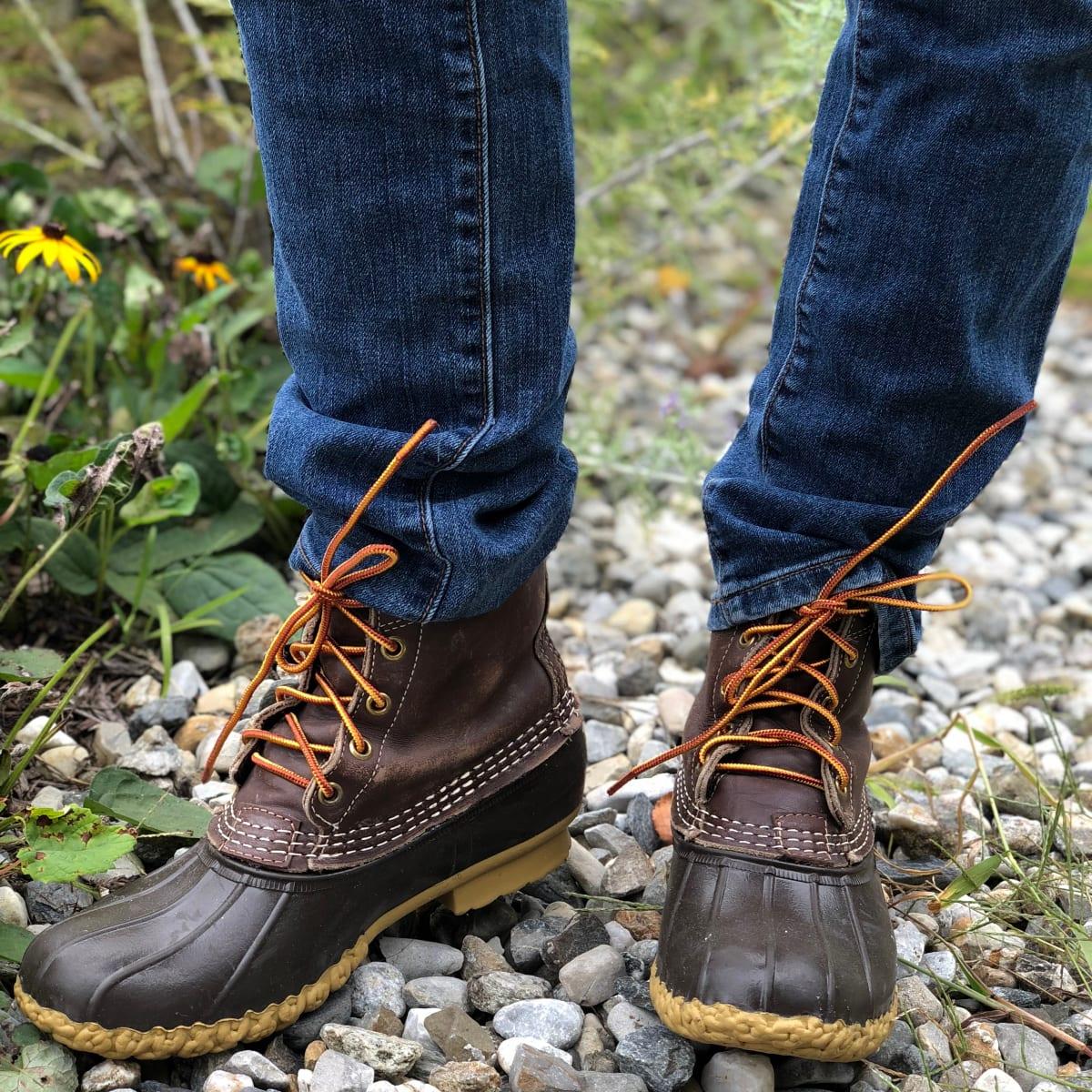 Resoling L.L.Bean Boots - MomTrends