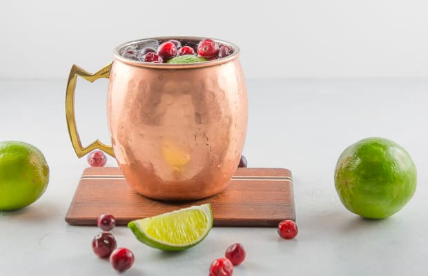 The Winter Mule Cocktail