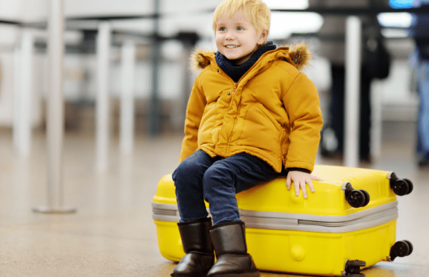 The Challenges (and Rewards) of Flying With Children