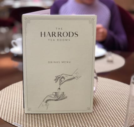 Harrod's tea room