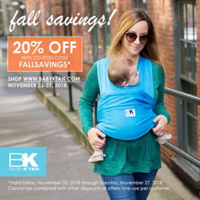 Bbay K'tan Fall Savings Promo