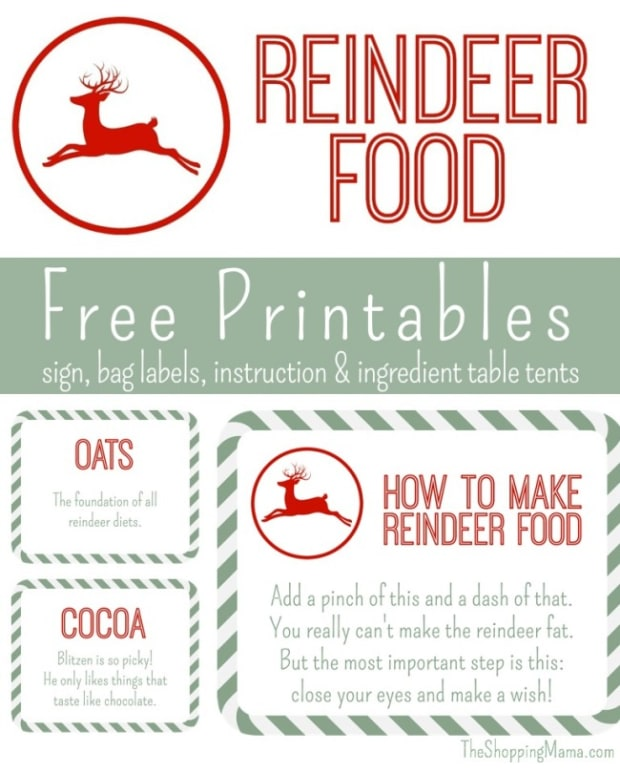 photo regarding Reindeer Food Labels Printable titled Reindeer Food items Free of charge Printables - MomTrends